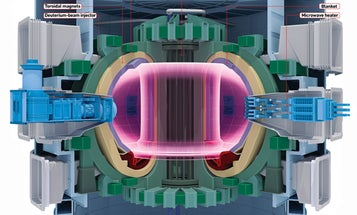 Inside the World's Largest Fusion Reactor