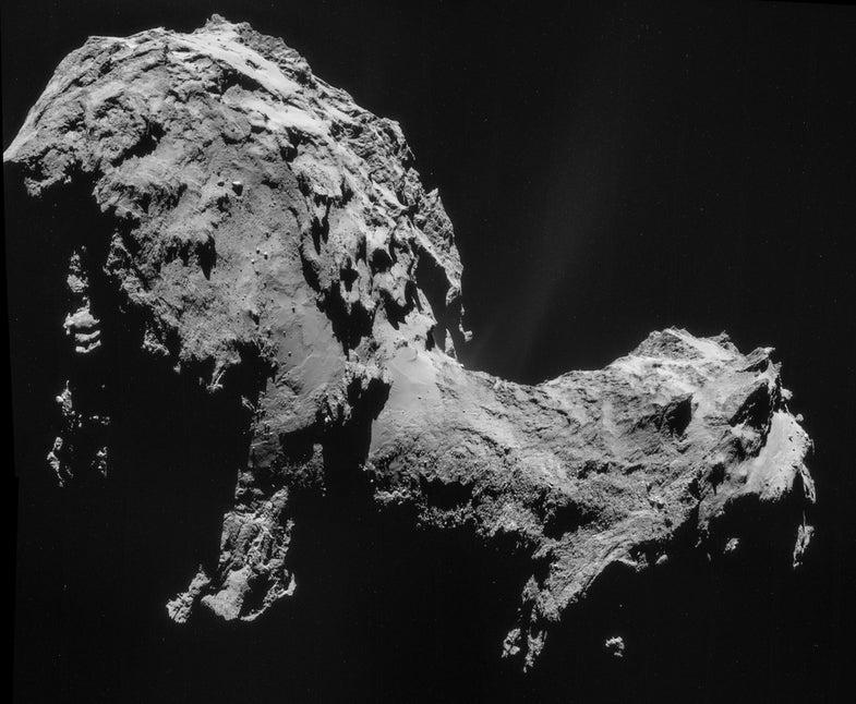Riding A Shrinking Comet Toward The Sun