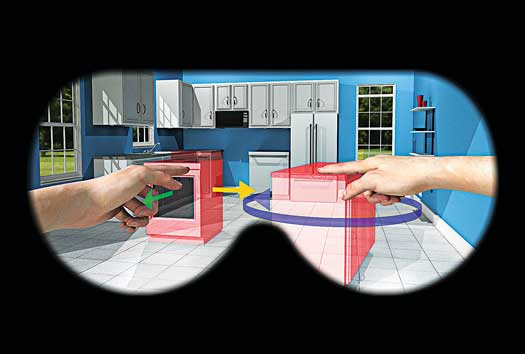 Gadgets Timeline: Mobile Augmented-Reality Systems