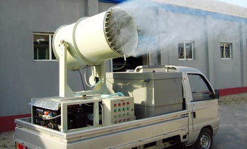 Beijing Deploys Giant Deodorant Cannons to Freshen Up City Landfill