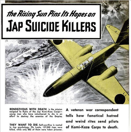 The Rising Sun Pins Its Hopes on Jap Suicide Killers: June 1945