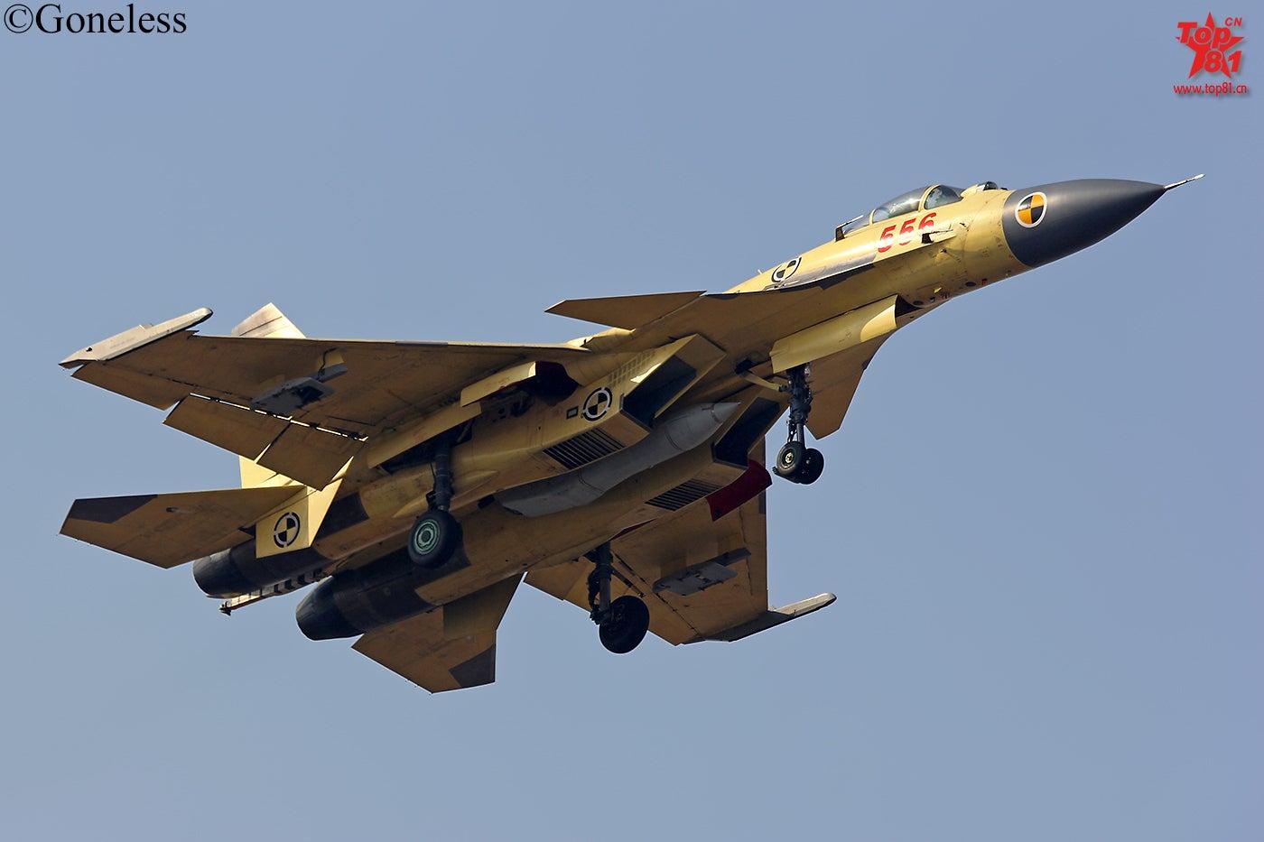 Tanker Buddies: Chinese Navy J-15 Fighter Planes Refuel in Flight