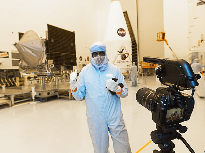 I Tried Really Hard Not To Contaminate NASA's Asteroid-Hunting Spacecraft