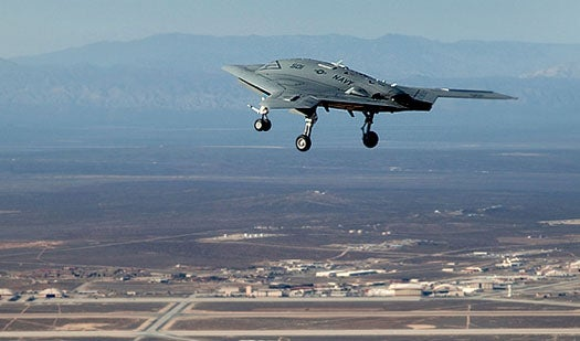 The Navy's X-47B Will Be So Autonomous, You Can Steer It With Mouse Clicks