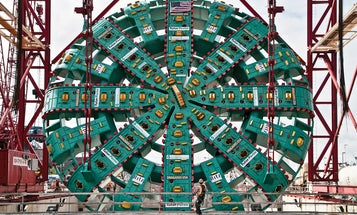 The World's Largest Tunnel-Boring Machine
