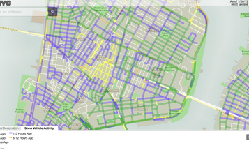 Stuck At Home? Watch Snowplows In Real Time