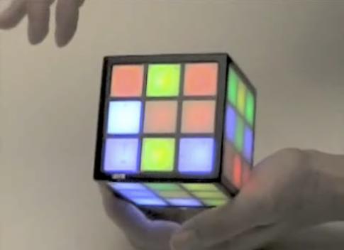 A Touch-Sensitive Rubik's Cube