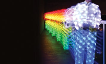 An iPhone-Controlled LED Suit Tears Up The Dance Floor