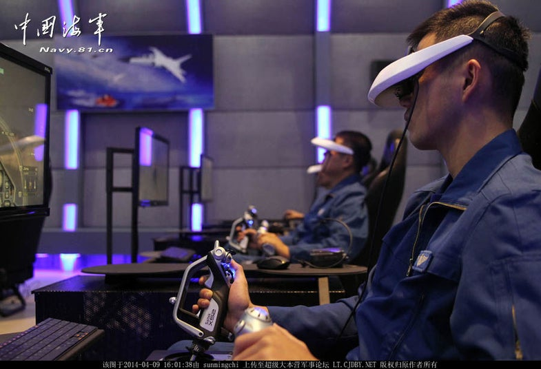 Virtual Reality Is Not Just For Facebook: Chinese Military Pilots Train In 3D
