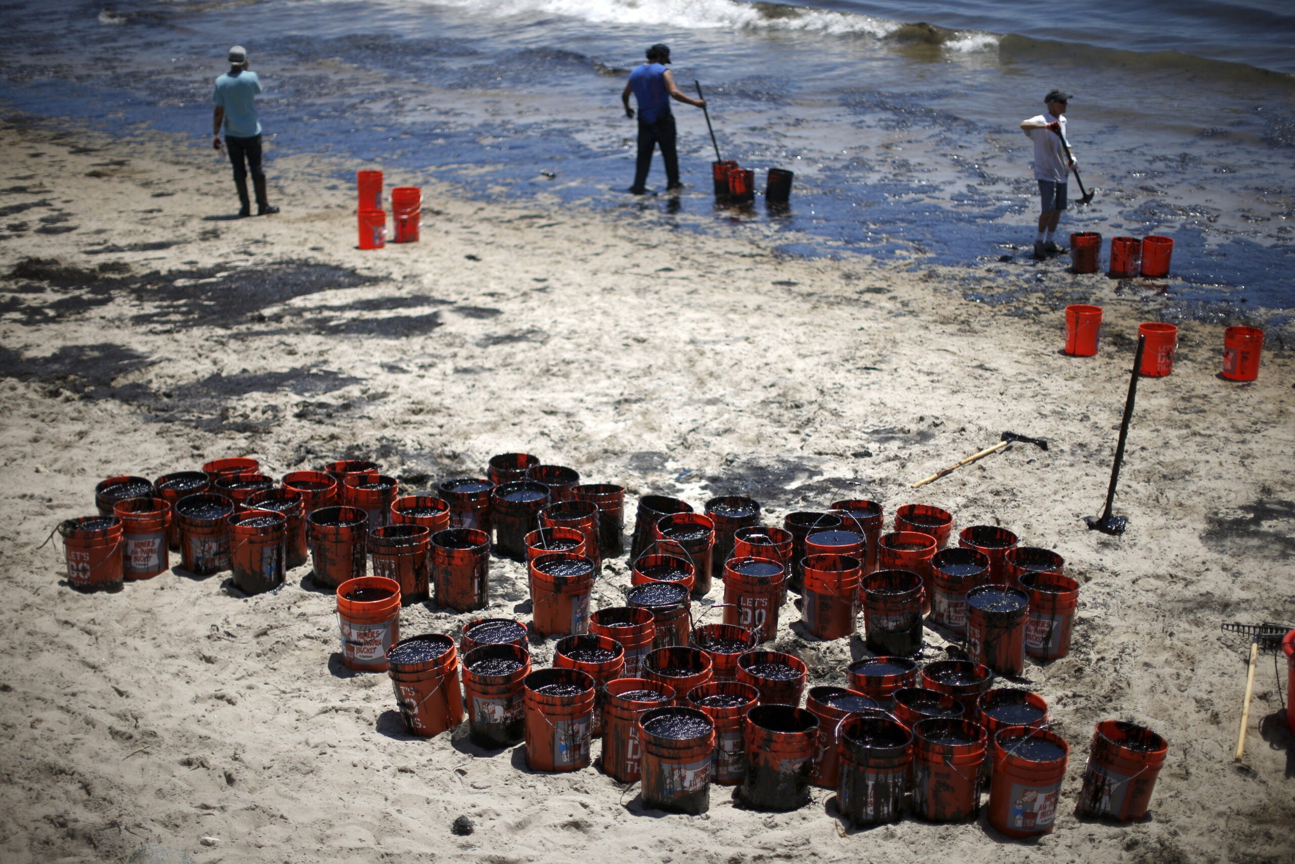 How Santa Barbara Is Cleaning Up Its Oil Slick