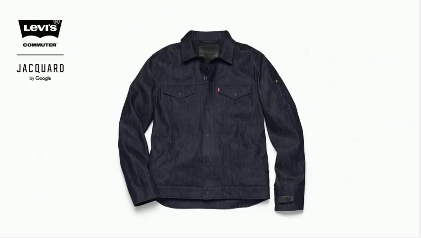 Google and Levi's Made A Smart Jean Jacket