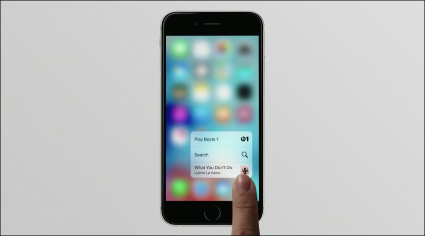 Apple's 3D Touch Will Change How You Use The iPhone