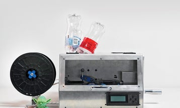 Feed Your 3D Printer Recycled Plastic