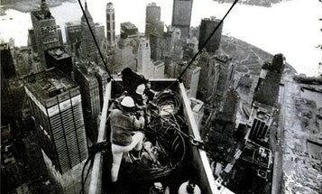 Vintage PopSci: Reporter Climbs World Trade Center Construction Site in 1971
