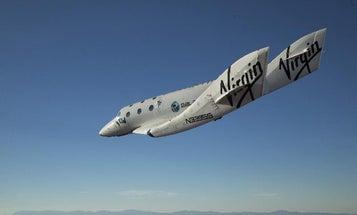 Video: Virgin Galactic's Enterprise Makes Maiden Manned Flight