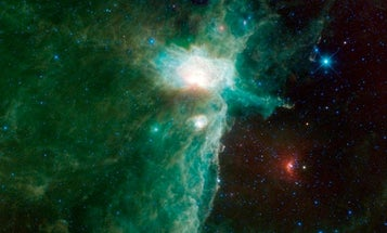 Pretty Space Pics: WISE Captures a Nebula on Fire