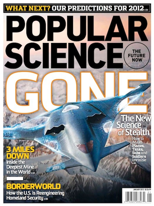January 2012: The New Science of Stealth