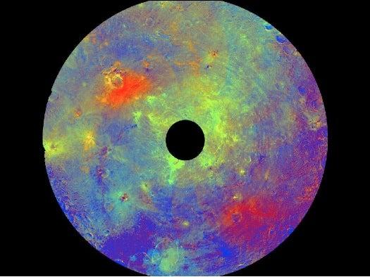 Pretty Space Pics: Dawn Captures Vesta's Composition in Brilliant Color