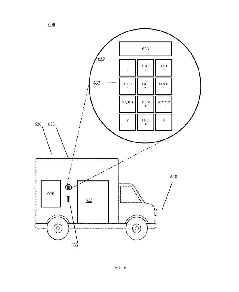 Google Delivery Truck Illustration