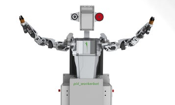 Human-Sized German Workerbot Is Programmed to Be Happiest When It Stays Busy