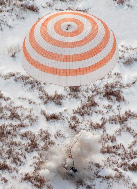 Touchdown Soyuz