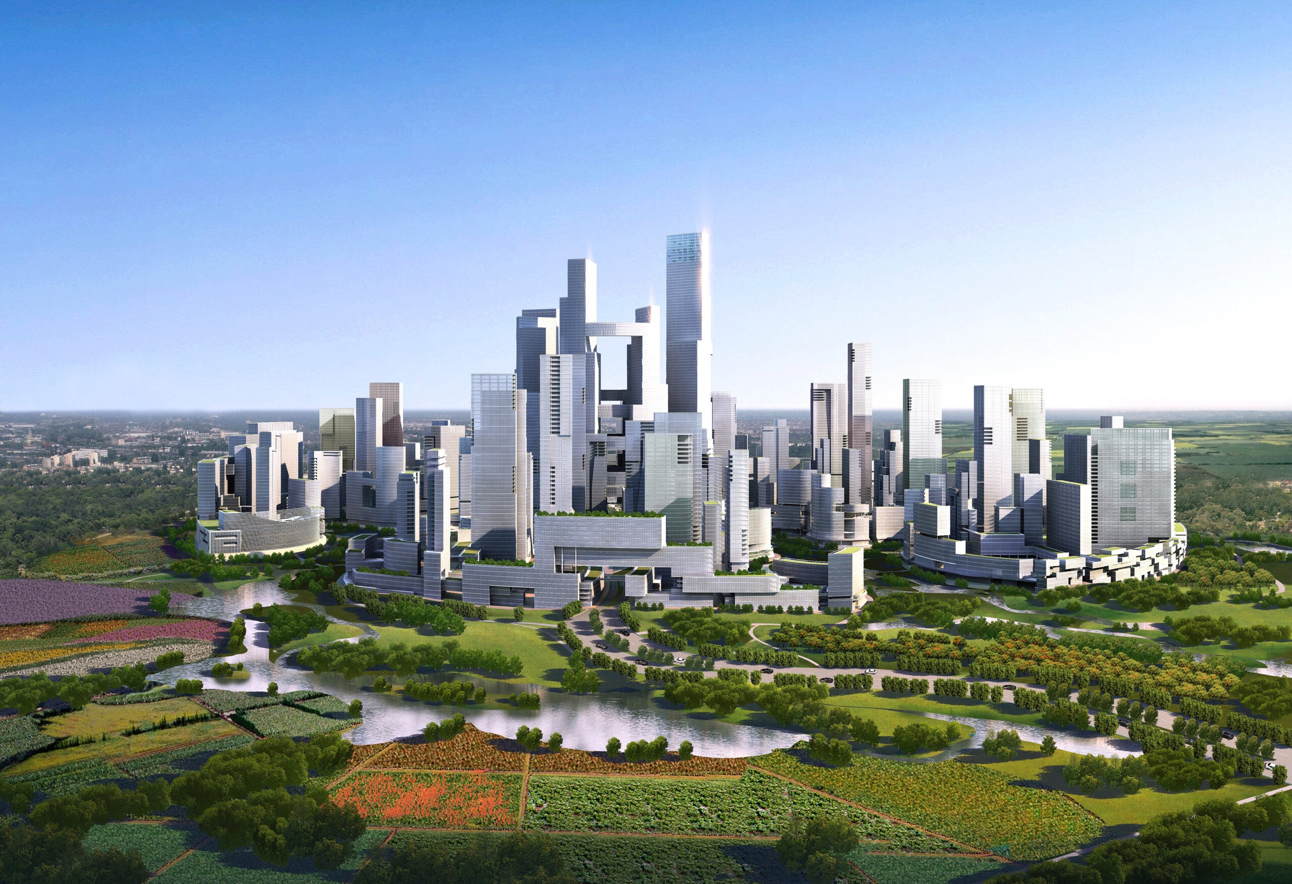 China Is Building A Brand New Green City From Scratch