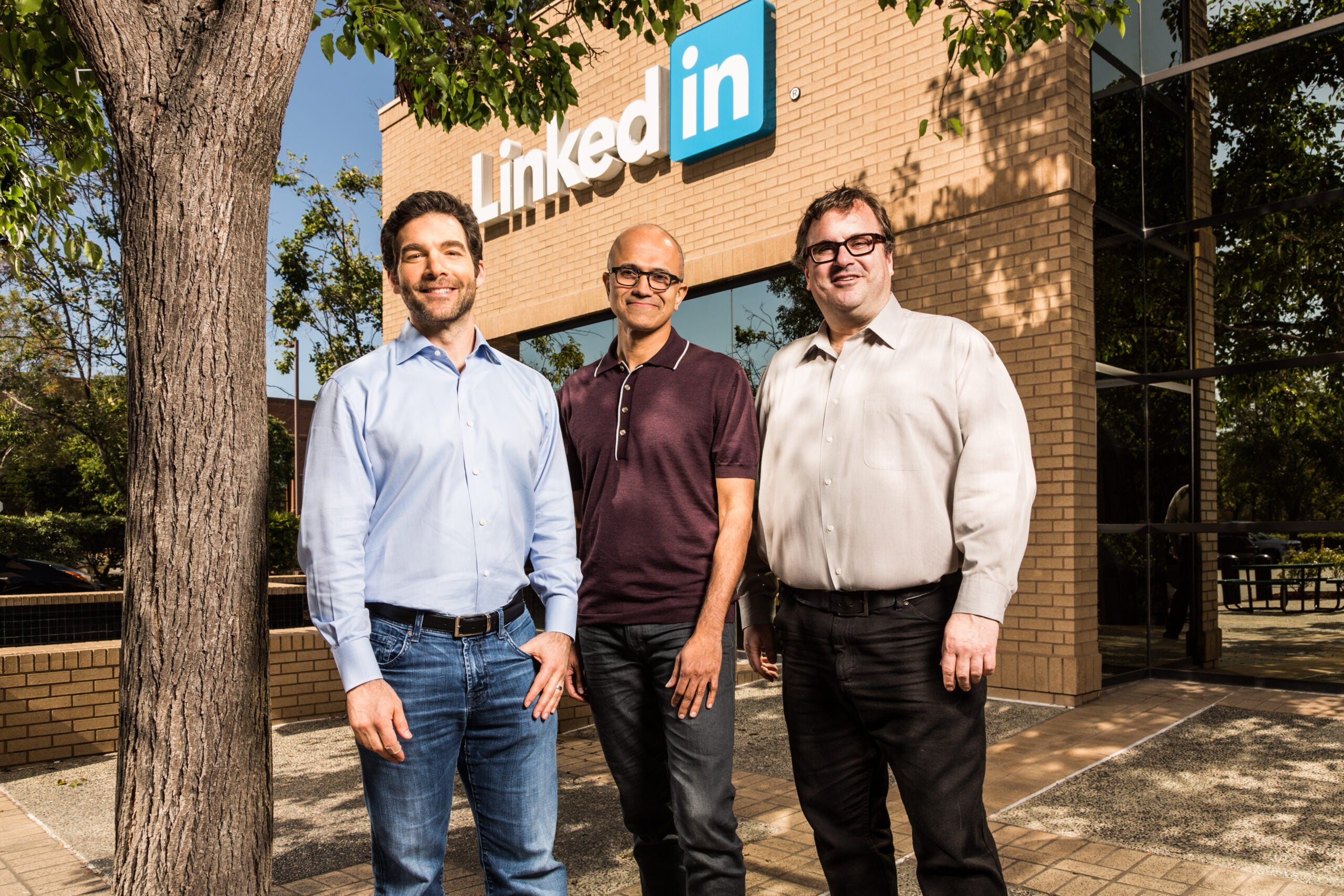 Microsoft Would Like To Connect With You on LinkedIn