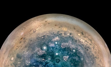 Shape shifting pasta, Jupiter's swirling storms, and other amazing images of the week