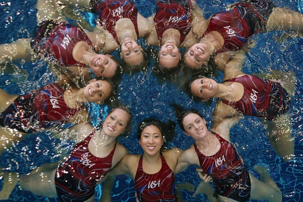The Secrets of Synchronized Swimming