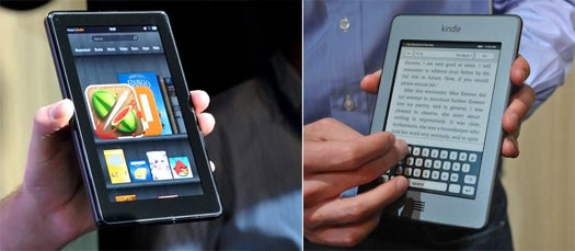 First Impressions: Amazon's Kindle Fire Tablet and Cheaper, Smaller, Touch-Based Kindles