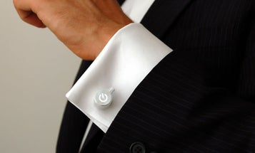 The Future of Cufflinks is Gently Throbbing With Light