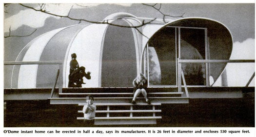Mail-Order Vacation Homes: March 1970