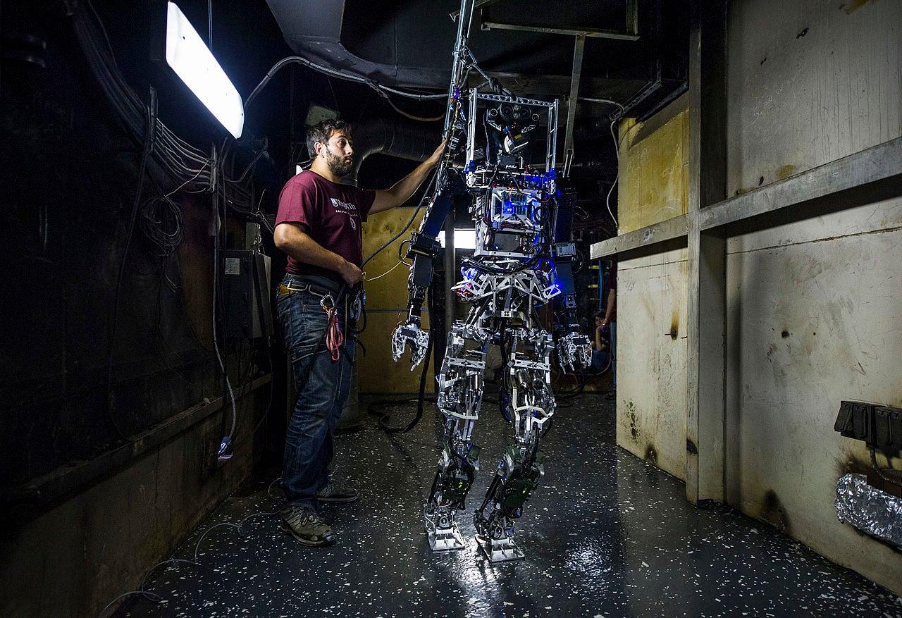 Shipboard Autonomous Firefighting Robot (SAFFiR) In Testing