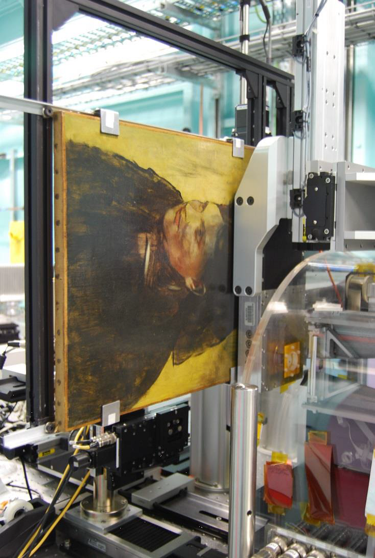 Scanning Painting