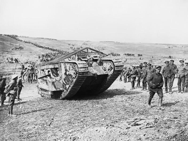 The First Tanks Went To War 100 Years Ago Today