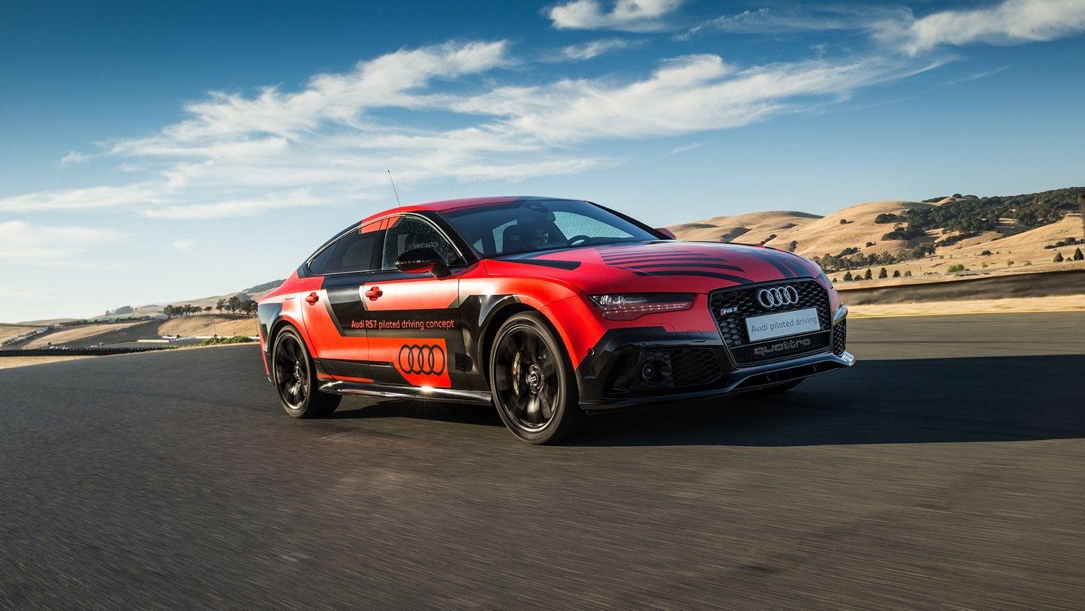Audi's Autonomous Vehicle Gets Track Days