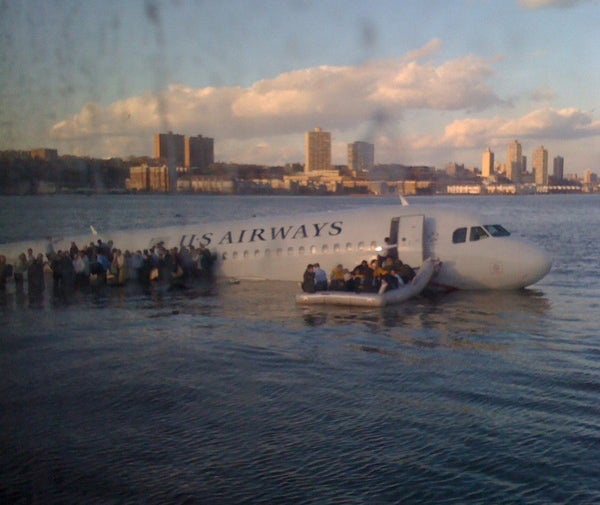Explaining the US Airways Crash