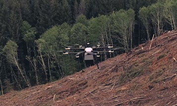 DroneSeed Company Could Replant Burned Forests