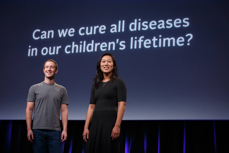 Chan Zuckerberg Initiative Commits $3 Billion To Cure All Diseases