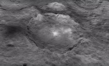 What Are The Mysterious Glowing Spots On Ceres?