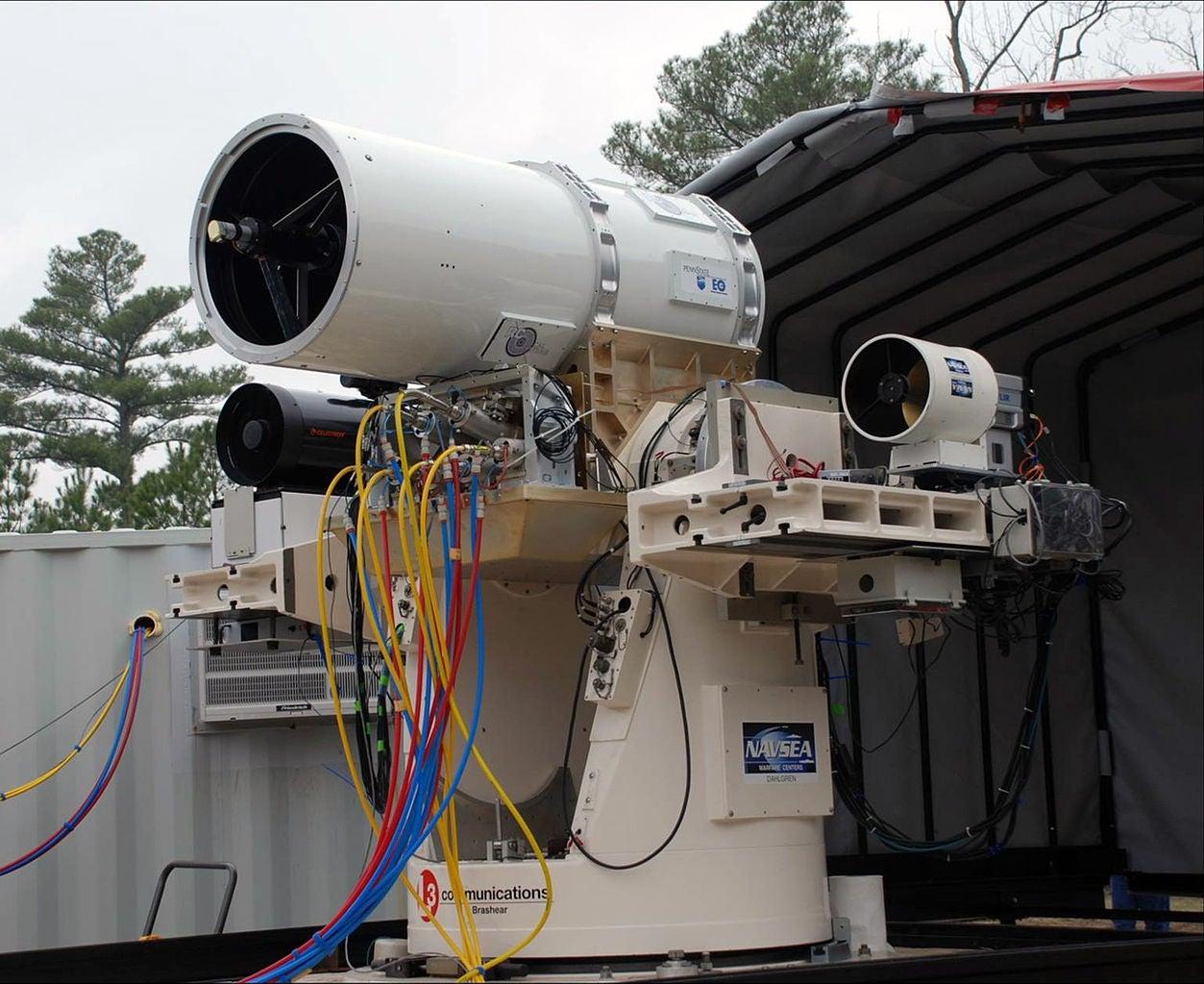 United Kingdom Wants A Big Laser Gun