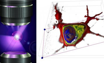 How Two Scientists Make 3-D Holographic Movies Of Individual Cells