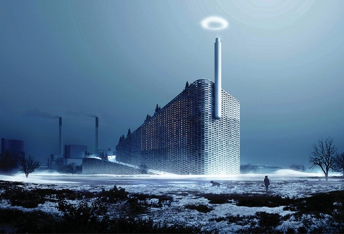 Carbon-Consuming Power Plant Will Puff Rings Of Triumph