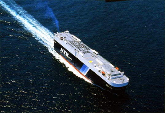 M/V Auriga Unveils World's First Solar-Powered Cargo Ship