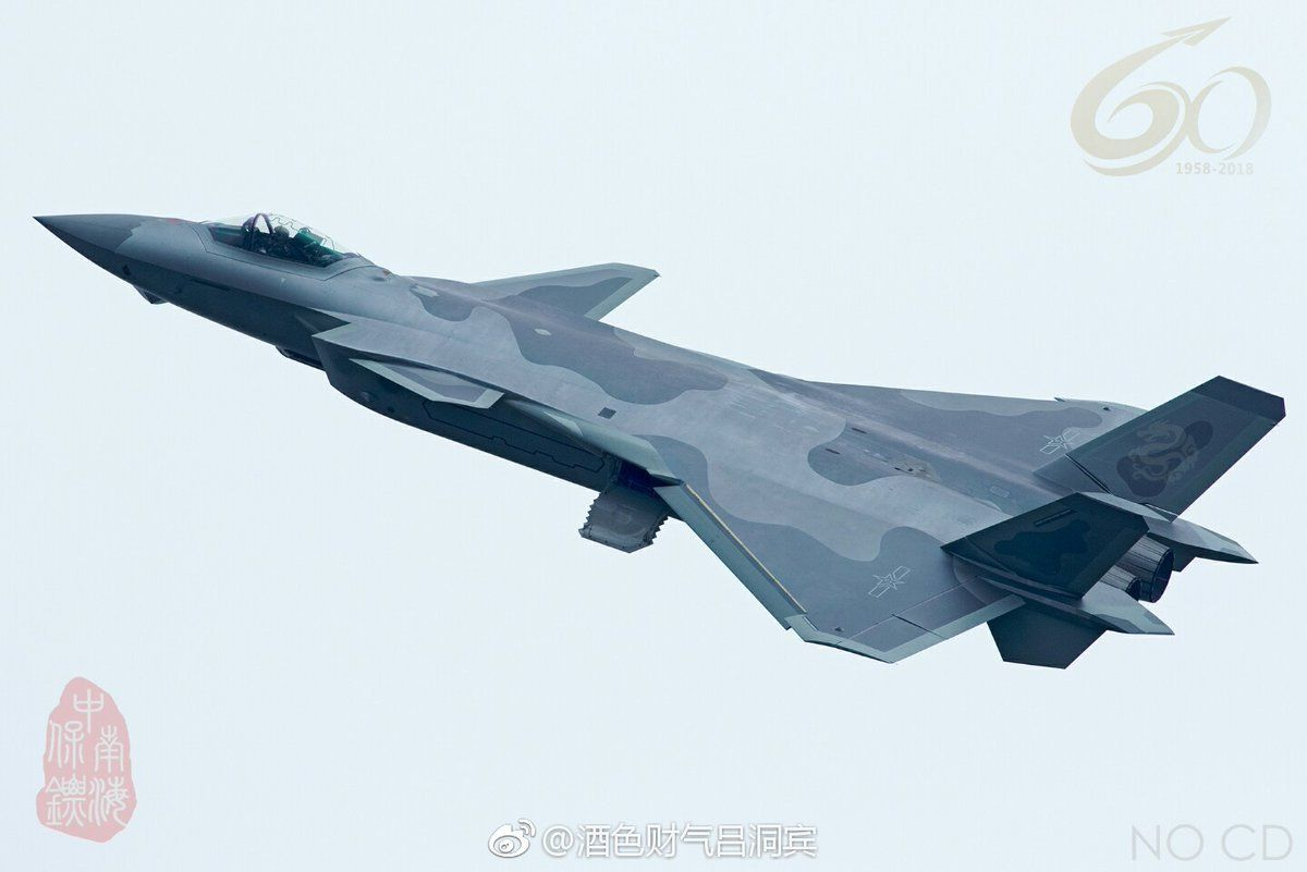 China's J-20 stealth fighter jet has officially entered service