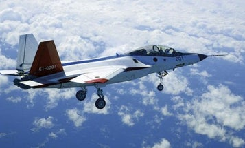 Japan's New Stealth Fighter Just Took Its First Flight