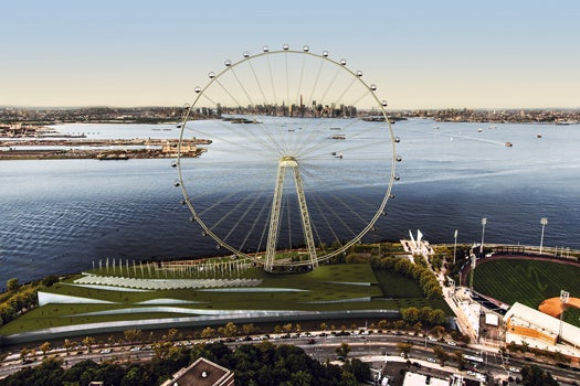 BigPic: Building The World's Tallest Ferris Wheel