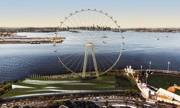 BigPic: Building The World's Tallest Ferris Wheel