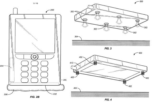 Amazon's Jeff Bezos Drops His Cell Phone, Patents an Airbag System To Protect Future Dropped Gadgets