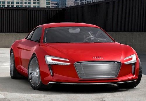 Frankfurt Motor Show: Audi E-Tron Electric Concept